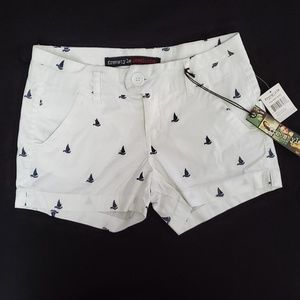 FREESTYLE REVOLUTION EMBROIDERED SAILBOAT SHORTS